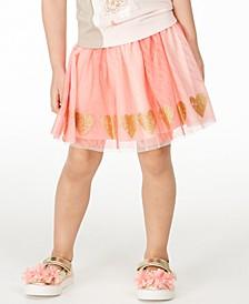 Toddler Girls Glitter Heart Tutu Skirt, Created for Macy's