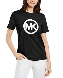 Cotton Logo T-Shirt, Available in Regular & Petites