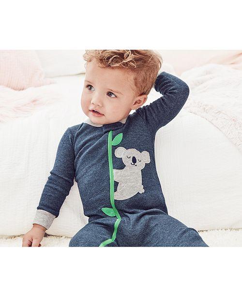 Carter's Baby Boys 1-Pc. Koala Footed Pajama
