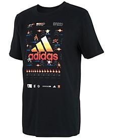 Toddler Boys 8-Bit Sports Game Cotton T-Shirt