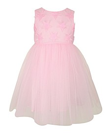 Baby Girl Applique Tulle Dress