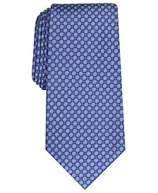 Men's Neat Silk Tie, Created for Macy's