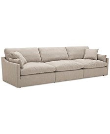 Joud 3-Pc. Fabric Sofa, Created for Macy's