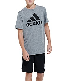 Big Boys Replenishment Melange Perf T-shirt