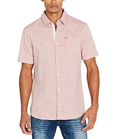 Men's Slim-Fit Chambray Shirt