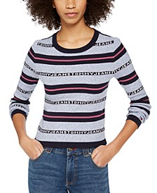 Cotton Striped Sweater