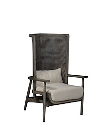 Accent Chair with Cotton Upholstery