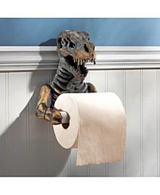 T. Rex Dinosaur Skeleton Bathroom Toilet Paper Holder