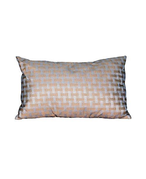 """Manor Luxe Leona Decorative Pillow, 13"""" x 21"""""""
