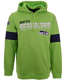 Men's Seattle Seahawks Sideline Line of Scrimmage Therma-Fit Hoodie
