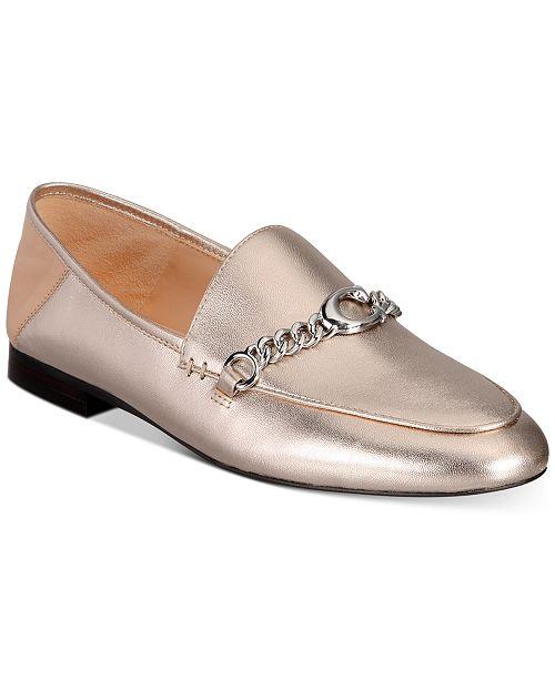 COACH Women's Helena C Chain Loafers