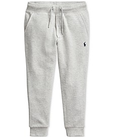 Little Boys Cotton Mesh Jogger Pants