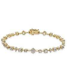 Cubic Zirconi Multi-Shape Tennis Bracelet, Created for Macy's