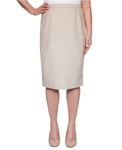 Alfred Dunner Nantucket Knee-Length Skirt