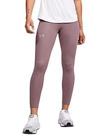Women's Qualifier Perforated Speed Pocket Ankle Leggings