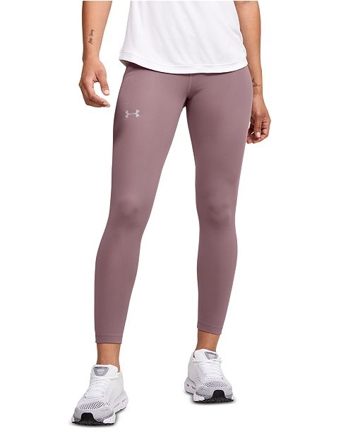 Under Armour Women's Qualifier Perforated Speed Pocket Ankle Leggings