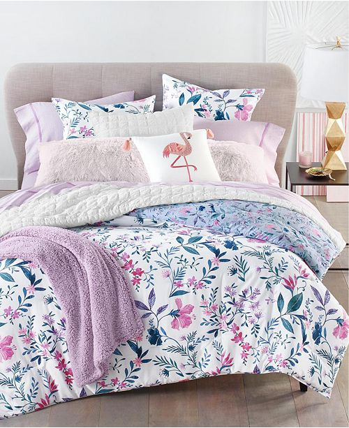 Martha Stewart Collection Whimsical Floral 3-Pc. Comforter Sets, Created for Macy's