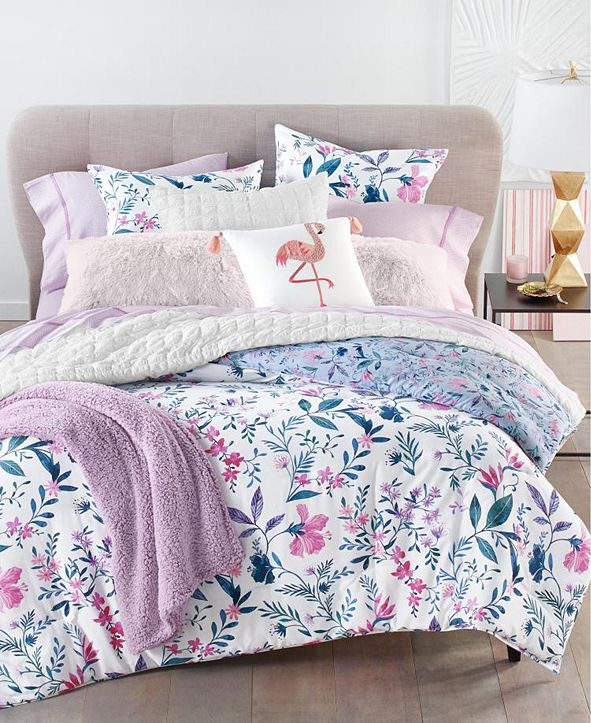 Martha Stewart Collection Whimsical Floral Bedding Collection, Created for Macy's