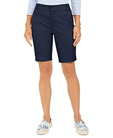Bermuda Twill Shorts, Created for Macy's