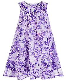 Baby Girls Floral-Print Chiffon Dress