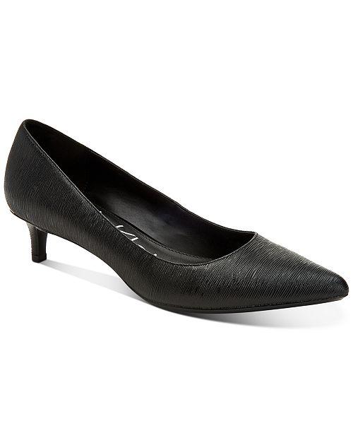 Calvin Klein Women's Gabrianna Pointed-Toe Pumps