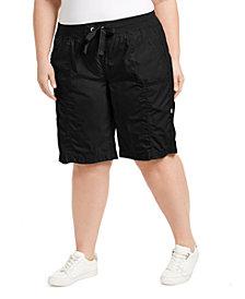 Calvin Klein Performance Plus Size Woven Active Shorts