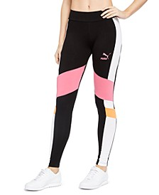 Colorblocked High-Waist Leggings