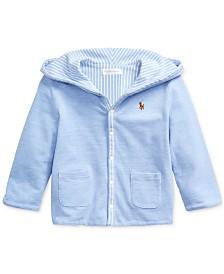 Baby Boys Reversible Knit Jacket