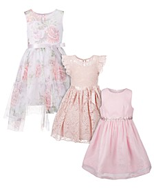 Little Girls Pink Party Dresses