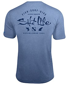 Men's Watermans UPF Performance Graphic T-Shirt