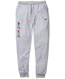 Men's Embroidered Jogger Pants