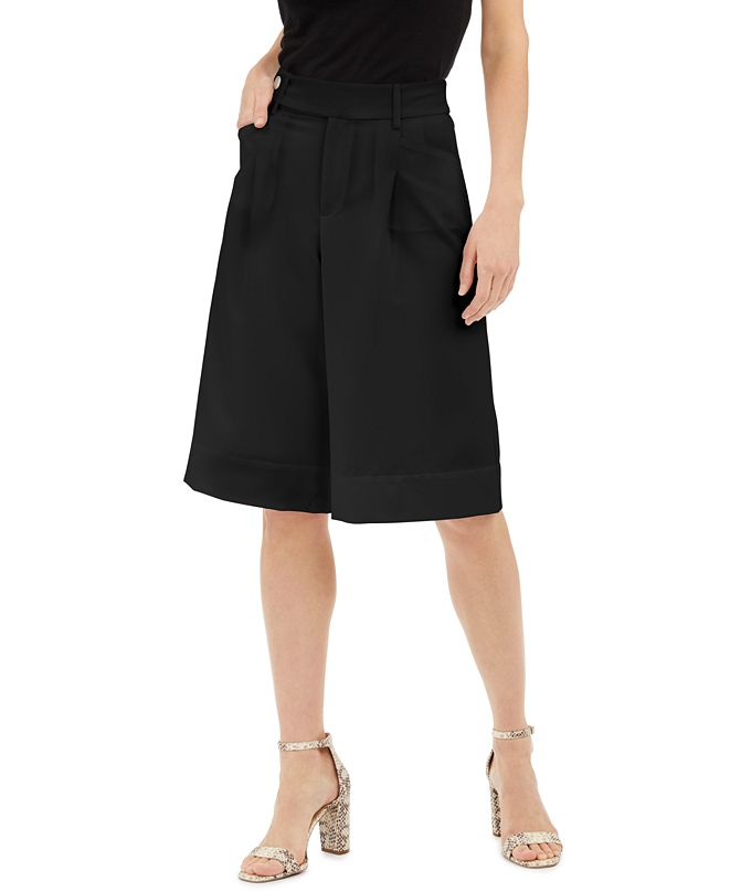 INC International Concepts INC Pleated Gaucho Pants, Created for Macy's