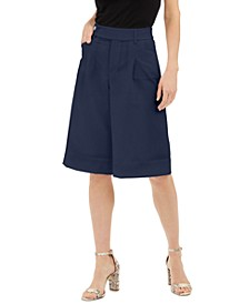 INC Pleated Gaucho Pants, Created for Macy's