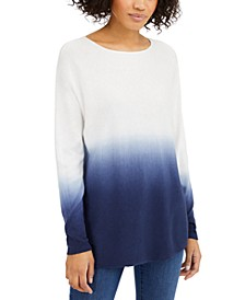 INC Dip-Dyed Shirttail Tunic, Created for Macy's