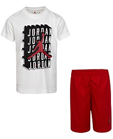Toddler Boys 2-Pc. Dri-FIT Jumpman T-Shirt & Shorts Set