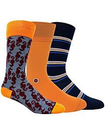 Men's Fun Dress Socks, Pack of 3