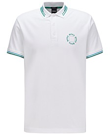 BOSS Men's Paddy 1 Cotton-Piqué Polo Shirt