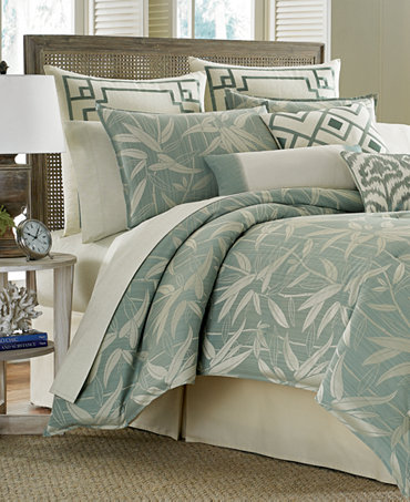 Tommy bahama home bamboo breeze california king comforter Tommy bahama bedding