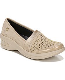 Bzees Red-Hot Washable Slip-Ons