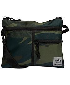 adidas Men's Originals Flat Crossbody Bag
