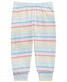 Baby Boys Rainbow Striped Pants, Created for Macy's