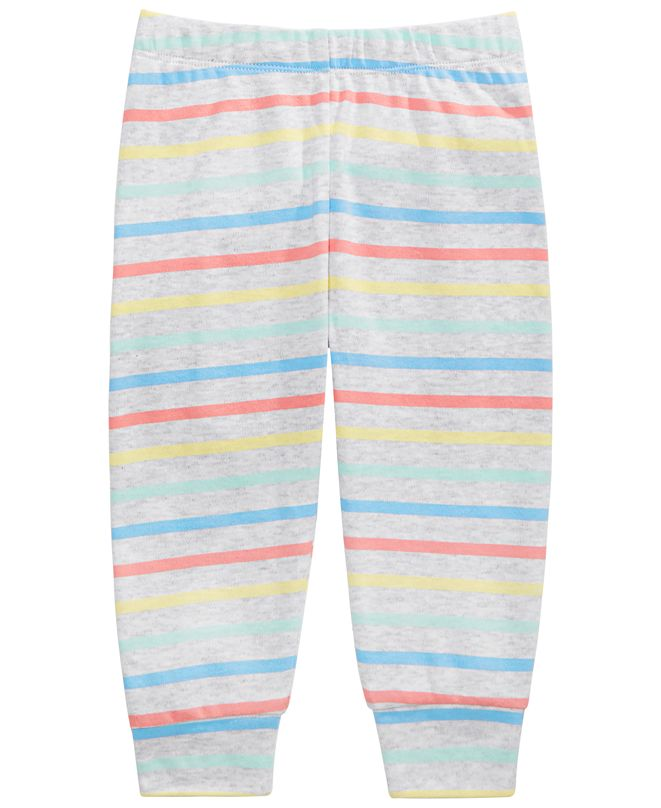First Impressions Baby Boys Rainbow Striped Pants, Created for Macy's