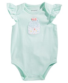 Baby Girls Cupcake Bodysuit, Created for Macy's