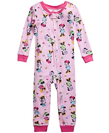 Toddler Girls 1-Pc. Minnie Mouse Pajamas