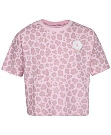 Big Girls Cotton Leopard T-Shirt