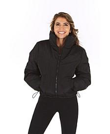 Women's Cinched Puffer Coat
