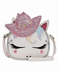Toddler, Little and Big Kids Cowgirl Miss Gwen Unicorn Crossbody