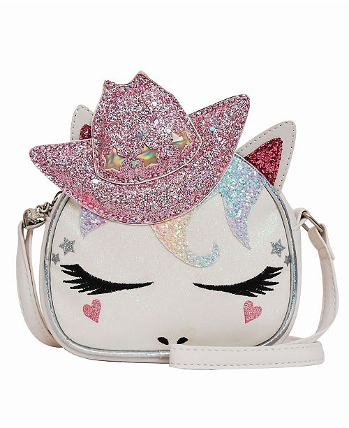 OMG! Accessories Toddler, Little and Big Kids Cowgirl Miss Gwen Unicorn Crossbody