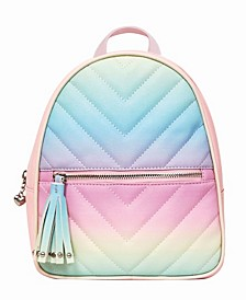 Toddler, Little and Big Kids Ombre Chevron Dome Mini Backpack