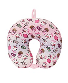 Toddler, Little and Big Kids Miss Gwen Unicorn Snacks Neck Pillow